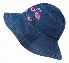 ГУ107, капелюшок, джинс, для дівчинки